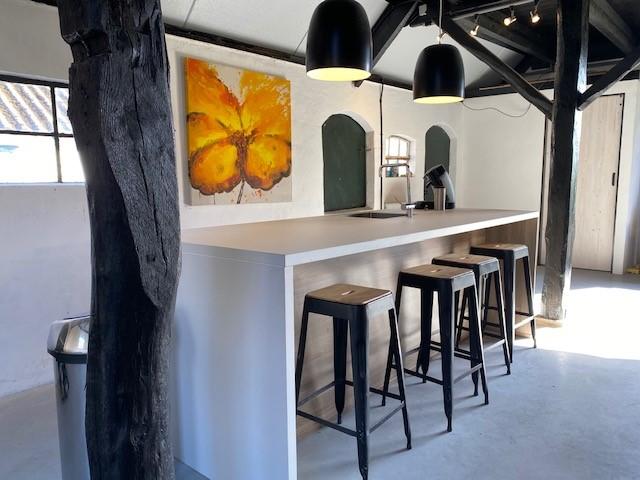 Keuken pantry bar Atelier Staverden bijzonder vergaderen workshop ruimte