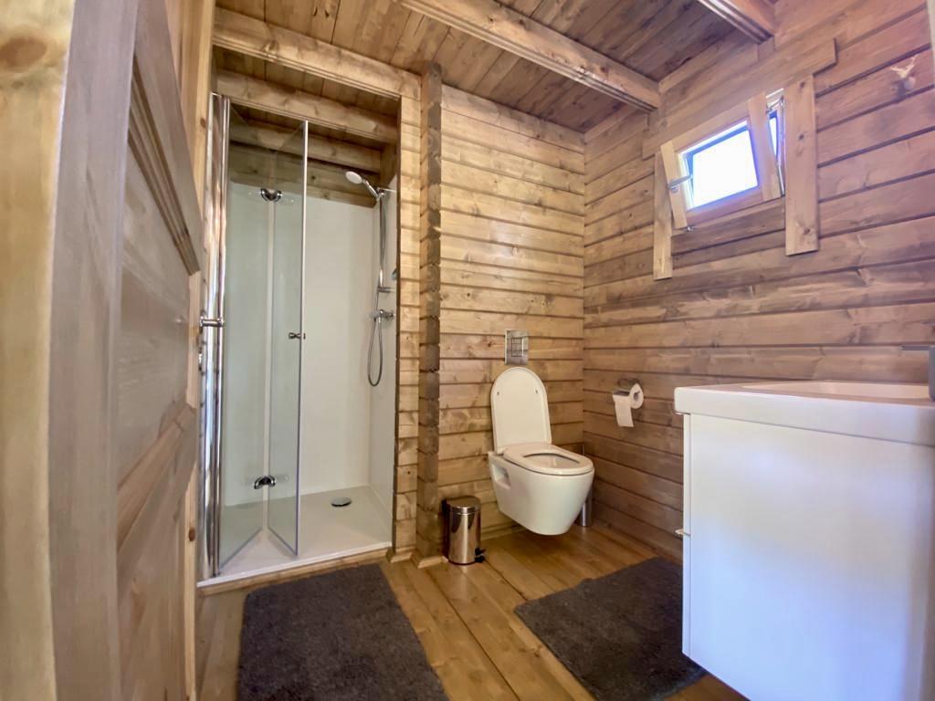 Badkamer vakantiehuisje veluwe op Staverden